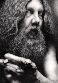 Alan Moore by Bengtern