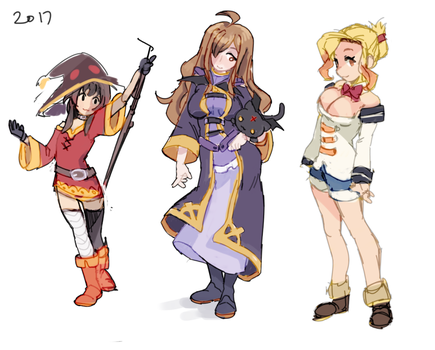 konosuba by senpeep