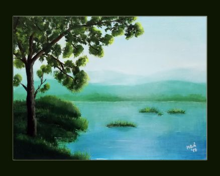At the lake by Galadriel34