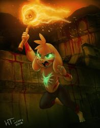 Asriel Shadow goat Crossover by HTECORE