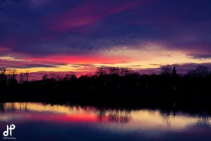 Byrd Park Sunset by dtiet