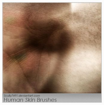 Human Skin Brushes by Scully7491