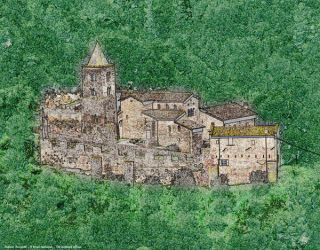 The medieval village - Il borgo medievale by Book-Art