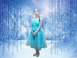 Me as Elsa the Ice Queen from Disney Frozen by Magic-Kristina-KW