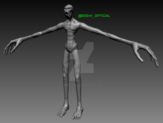 Tall Nightmare Man - WIP 01 by EEEnt-OFFICIAL