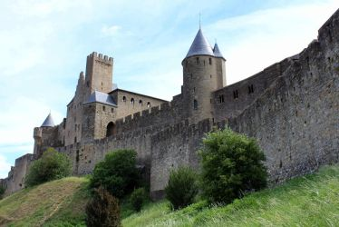 Carcassonne VIII - Les remparts by Scipia