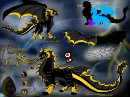 Racorzians-Ignis reference sheet 2015 by BlackDragon-Studios
