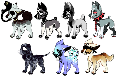 BAD DOG ADOPTS - OPEN by aliensphynx