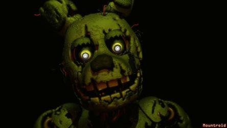 [SFM] Springtrap Jumpscare (Right side) by GreenRou