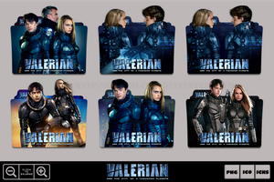 Valerian and the City of a thousand Planets Pack by Bl4CKSL4YER