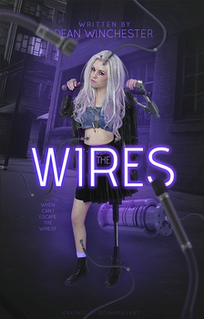 Book Cover 045 - The Wires by sohappilyart