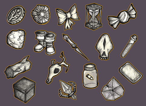 College project art dump // Items by GaddTheThief