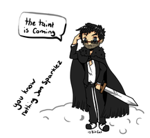 The taint is coming! Jon Sparklez. by 12BitCat