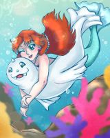 Misty and Dewgong