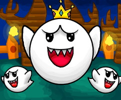 Mario and Luigi Paper Jam (King Boo Boss Battle) by Gianluca850