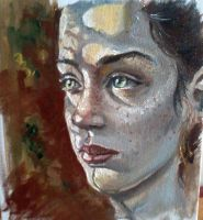 oil sketch by Nelsonito