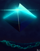 Day 5: Blue - Ramiel by MrMarkoz
