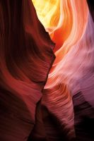 Lower Antelope Canyon 9 by AaronPlotkinPhoto