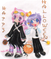 Happy Belate Halloween by DafNyanko