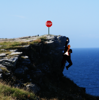 Stop: Cliff Ahead by Tasty-Burger