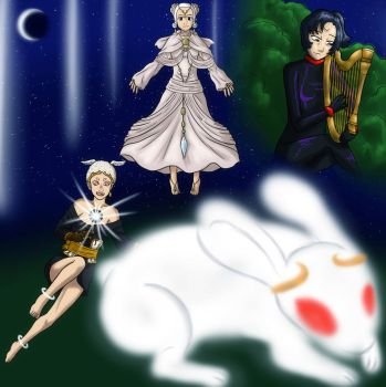 Usagi's second Symphony. by Pink--Reptile