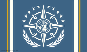 UNIFIED EARTH SYSTEMS FEDERATION Flag by MisterK91