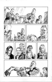 FEAR ITSELF HOMEFRONT2 Pg11 BW by mikemayhew