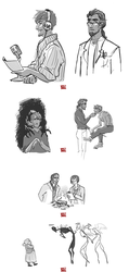 Snapshots from Night Vale [Nightvale] by epimeral