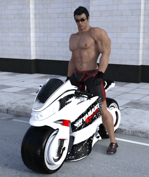 Motorcycle 1 by Stonepiler