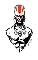 Dhalsim Sketch by mazingerpip