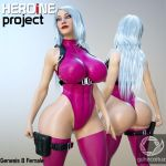 Heroine Project for G8F by guhzcoituz