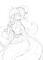 SnakeGirl wip by punipaws