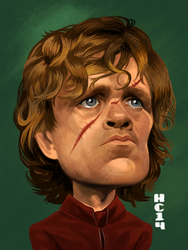 Tyrion Lannister by hamdiggy