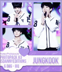 Jungkook (BTS) - PHOTOPACK#03 by JeffvinyTwilight