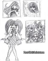 Monster High: Scribbles by I-heart-Link