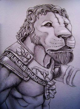 The King Lion by I-Moakin
