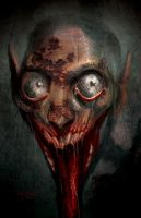 Zombie Film Concept Art by RayDillon