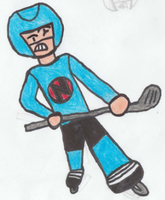 11/768 - Hockey Player (Ice Hockey) by DiskJoshy