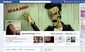 So I chose to customize my Facebook :P by TheHellcow