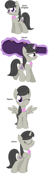 Octavia - All Pony Races by Pupster0071