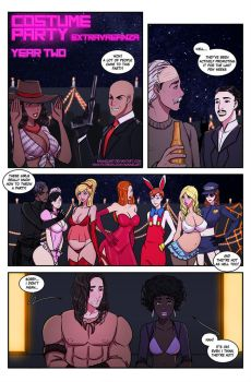 Costume Party Extravaganza Year 2 - Page 01 by KannelArt