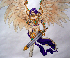 Akroma, the Angel of Wrath by Space-Moose