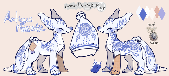 Pillowing design: Antique Memories by StrawberryOverlord