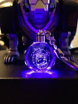 GLOW-LITE Shiro keychain! by zillabean