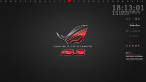 Asus Gamers Red September 2013Asus Gamers Red Sept by acme005