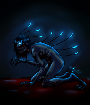 Monster boy challenge day 11: True monster by McEdgelord
