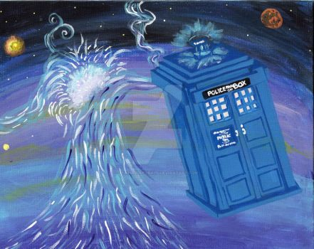 The TARDIS by ieatmousetraps