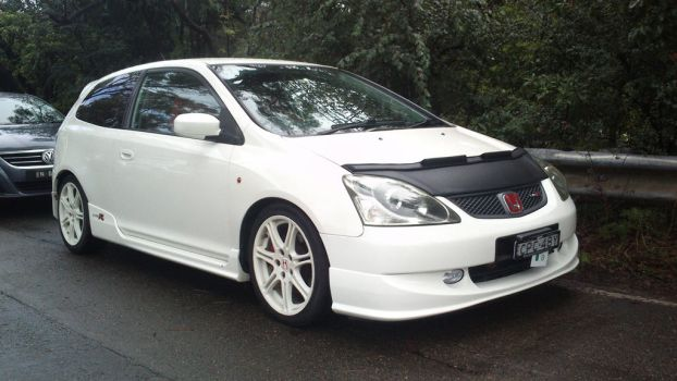 2003 Honda Civic Type R by TricoloreOne77