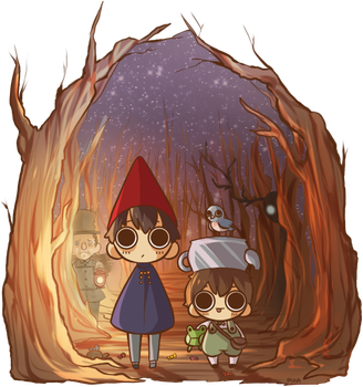 Over The Garden Wall by pikaxiu