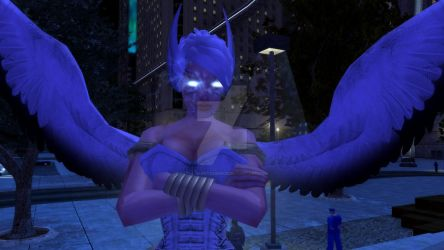 Steel Canyon in City of Heroes by Fatal-Quintessence
